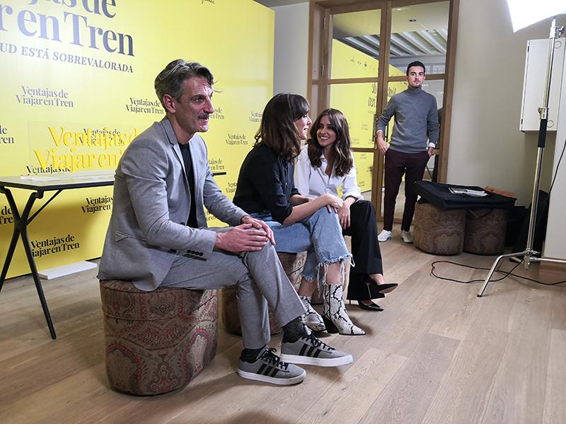 Ernesto Alterio, Belén Cuesta y Macarena García