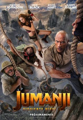 Jumanji, siguiente nivel